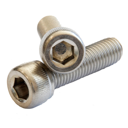 Socket Cap Stainless (316) : M3 (0.50mm) x 12mm