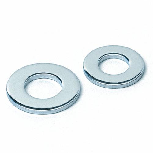 "1/4"" Chromed Flat Round Steel Washer"