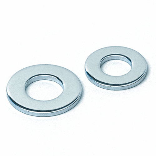 "3/8"" Chromed Flat Round Steel Washer"