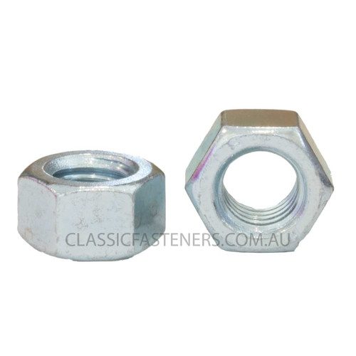 M6 Std Hex Nut Grade 8 Zinc