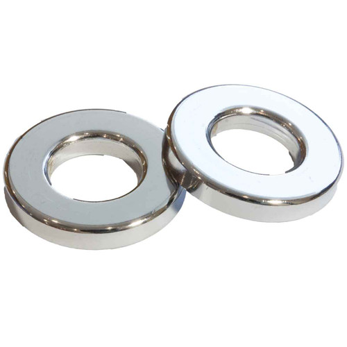 JAG Cylinder Head thick round Washer Chrome