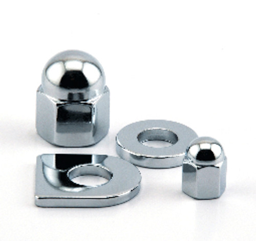 "1/4"" UNF Jaguar Chrome Cam Cover Nut"
