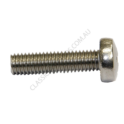 Pan Phillips Stainless (316): M3 x 6mm
