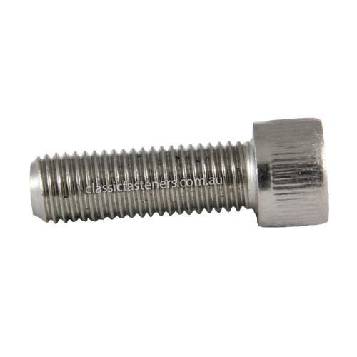 Socket Cap Stainless (304) : 3/8 - 24 UNF x 1 1/4