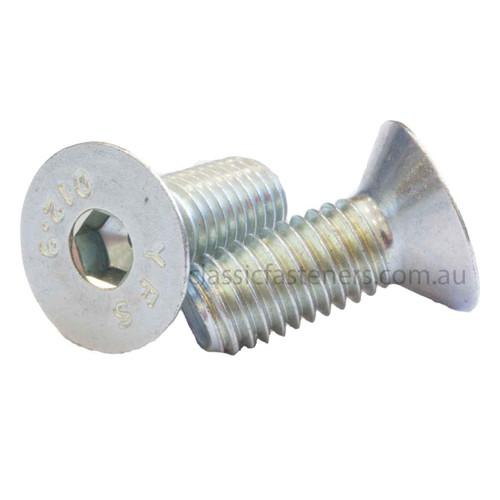 Csk Socket Class 12.9 Zinc : M6 (1.00mm) x 12mm