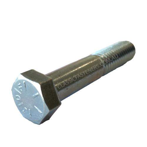 Bolt 3/8 UNC x 2 Grade 8 Zinc