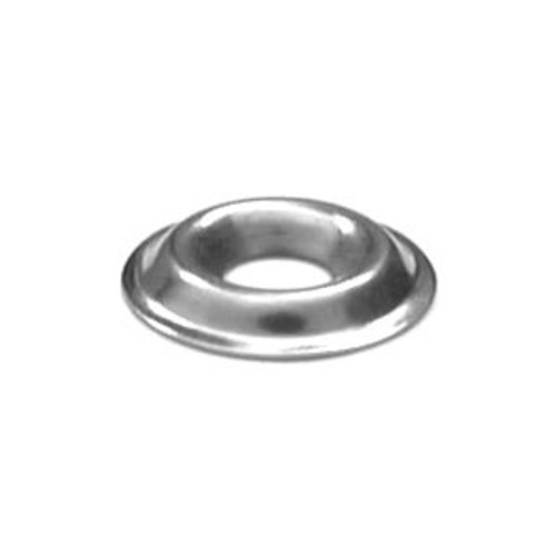 Flanged Cup Washer Stainless 8 Gauge