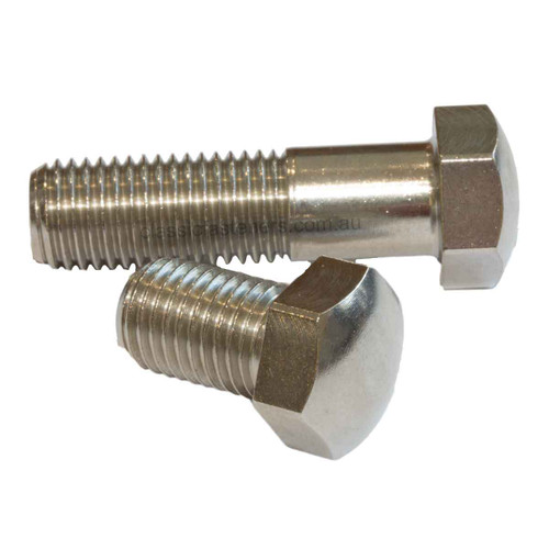 M10 (1.25) FINE x 35mm Domed Bolt 14mm AF Stainless 304