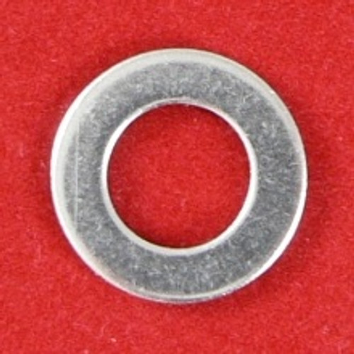 1/4 x 1/2 OD x 18G (1.2mm) Flat Washer Stainless 316 : Qty 100