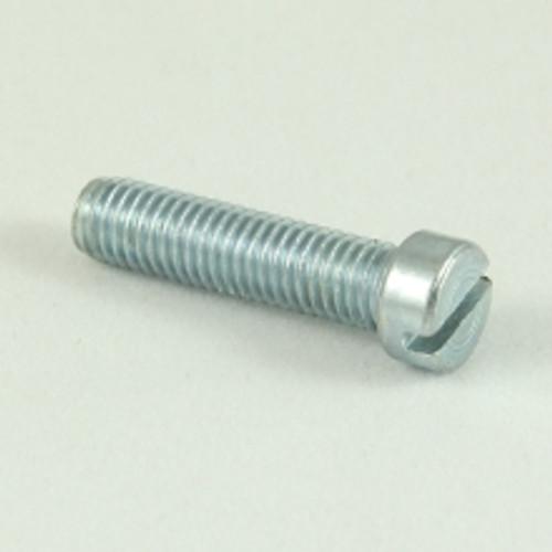 1/4 BSF x 3/4 Cheese Head Slot Steel Zinc