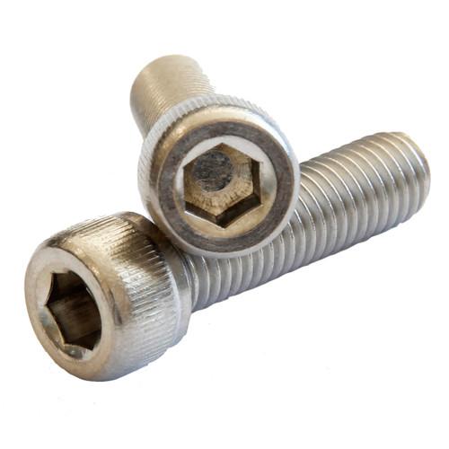 M2.5 (0.45mm) x 8mm Socket Cap Stainless 304 : Qty 100