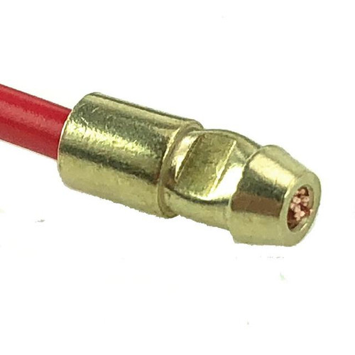 Lucas Style 4.7mm Brass Bullet Connectors for 2mm Cable