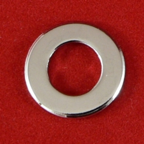 Flat Round Washer Chrome plated