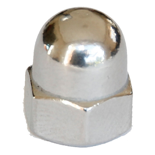 Dome nut stainless one piece