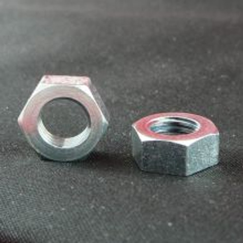 "Reduced Hex Nut 5/16 BSCY, Height 0.195"" ZP"