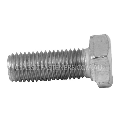 Set Screw 5/16 BSF x 3/4 grade R zinc/pl