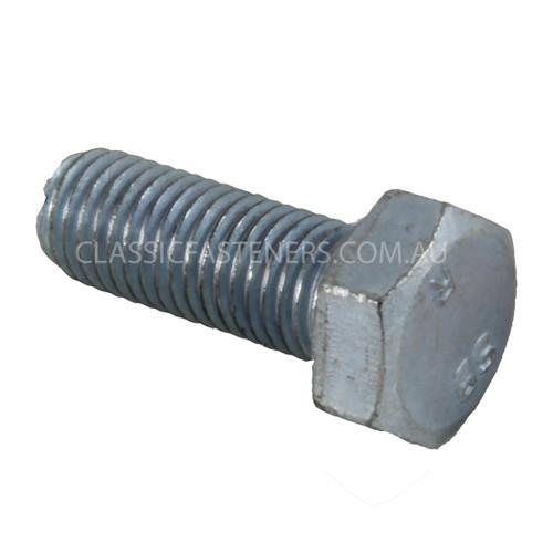 BSF Set Screw Bolt Zinc High Tensile