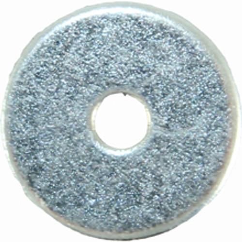 Flat Washer Zinc 1/8 x 5/8 OD x 18G. Qty: 100