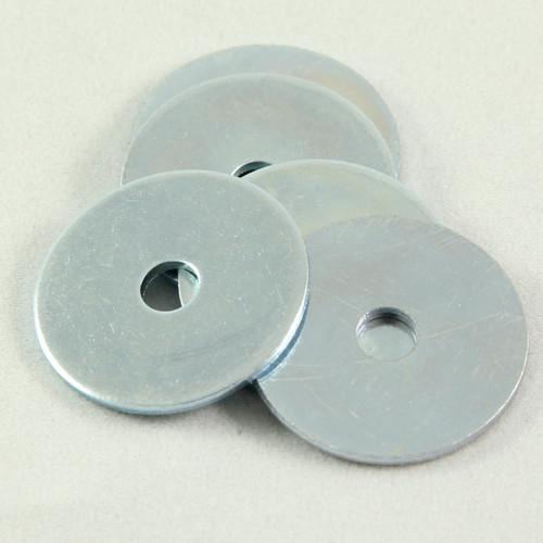 Flat Washer Zinc 3/16 x 1 OD x 16G. Qty: 100