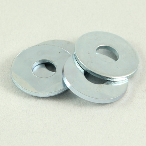 Flat Washer Zinc 1/4 x 3/4 OD x 16G. Qty: 200
