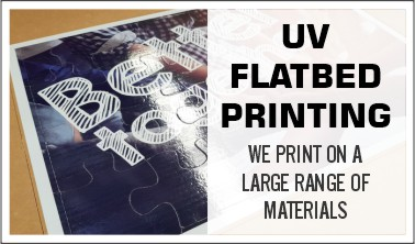 Services - UV Flatbed Printing