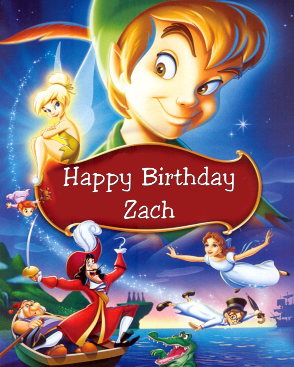 eeaa870e4f253 Peter Pan Poster