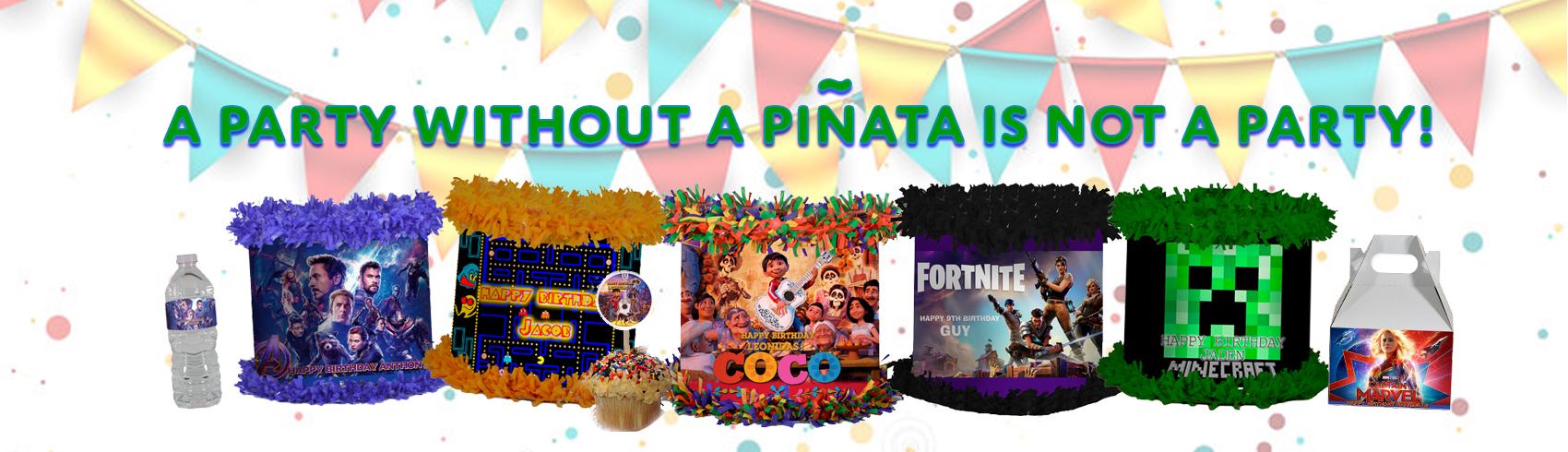 Happy Birthday Pinatas for sale - store WorldOfPinatas com