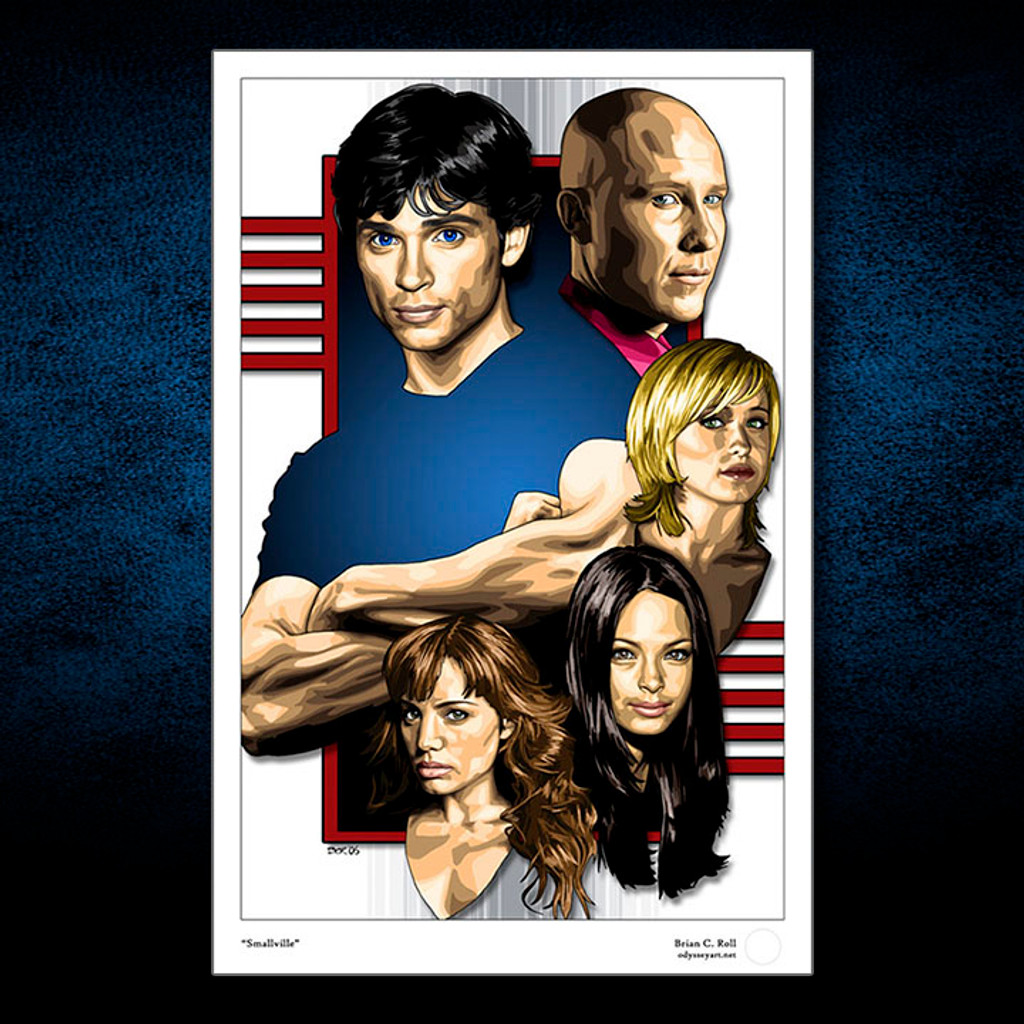 Smallville, Tom Welling, Brian C. Roll, Odyssey Art