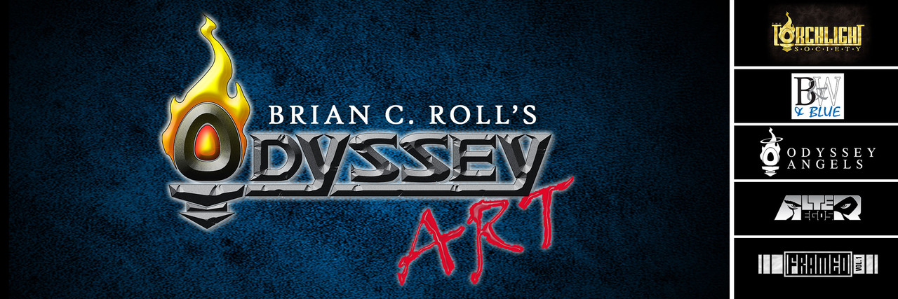 Digital Art, Fan Art, Art prints, Brian C. Roll, Odyssey Art