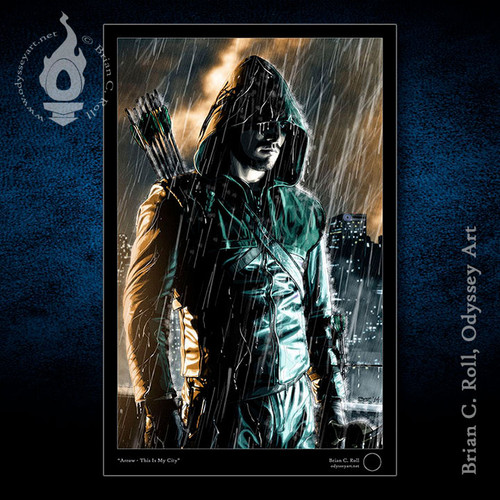 This is My City, Arrow, Green Arrow, Stephen Amell, Brian C. Roll, Odyssey Art