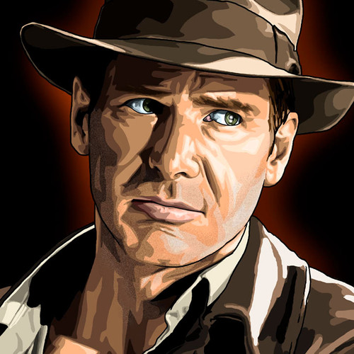 Indiana Jones, Indy, Harrison Ford, Brian C. Roll, Odyssey Art, thbnail