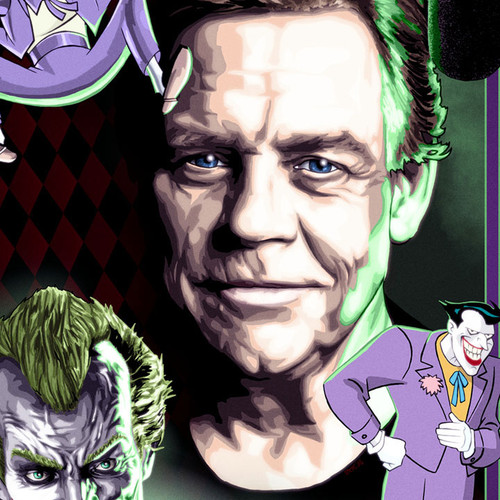 Mark Hamill, The Joker, Batman, Brian C. Roll, Odyssey Art, thbnail
