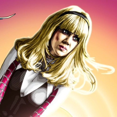 Spider-Gwen, Gwen Stacy, Marvel, Cosplay, Brian C. Roll, Odyssey Art