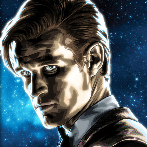 Doctor Who, Matt Smith, Brian C. Roll, Odyssey Art, thbnail
