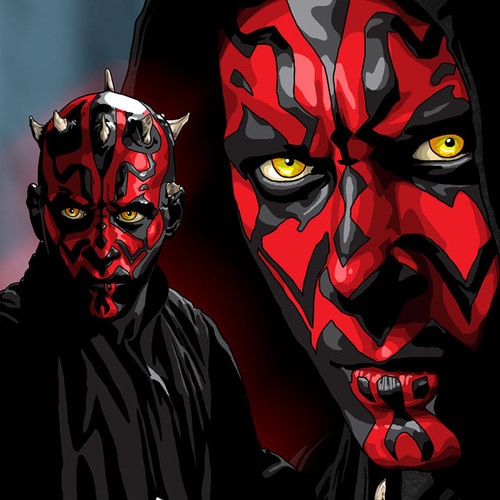 Darth Maul, Star Wars, Brian C. Roll, Odyssey Art, thbnail