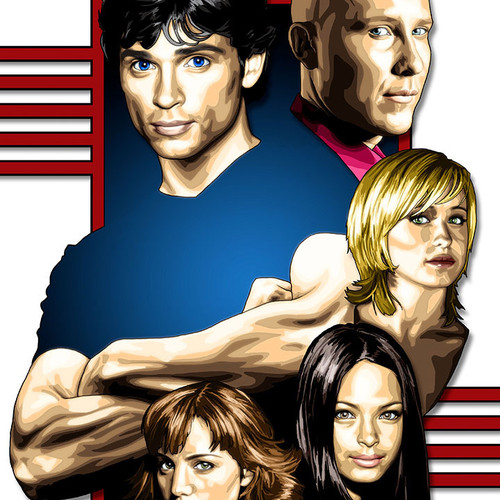 Smallville, Clark Kent, Superman, Tom Welling, Lex Luthor, Lois Lane, Brian C. Roll, Odyssey Art, thbnail