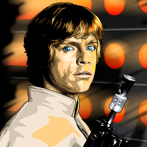 Luke Skywalker, Star Wars, Return of the Jedi, Brian C. Roll, Odyssey Art, thbnail