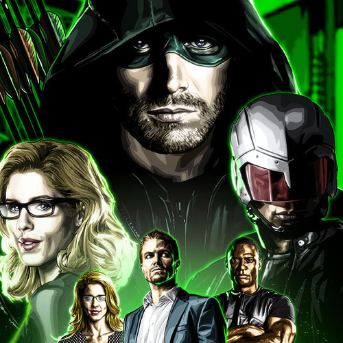 Arrow, Felicity, Diggle, OTA, Foundation, Stephen Amell, Brian C. Roll, Odyssey Art, thbnail