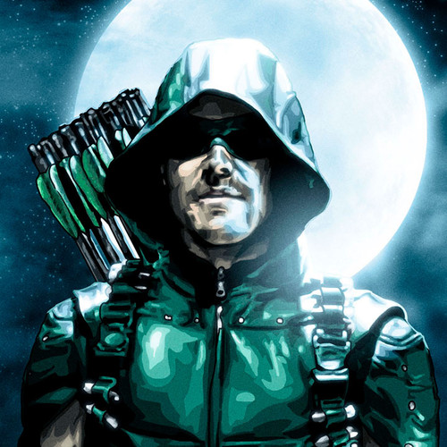 Arrow, Star City Saint, Stephen Amell, Brian C. Roll, Odyssey Art, small, thbnail