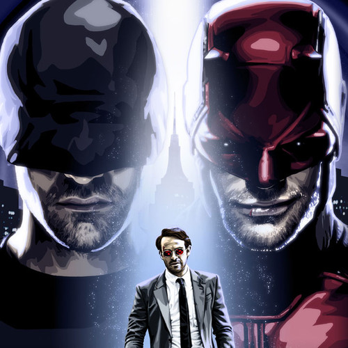Daredevil, The Man in Black, Matt Murdock, Charlie Cox, Brian C. Roll, Odyssey Art, thbnail