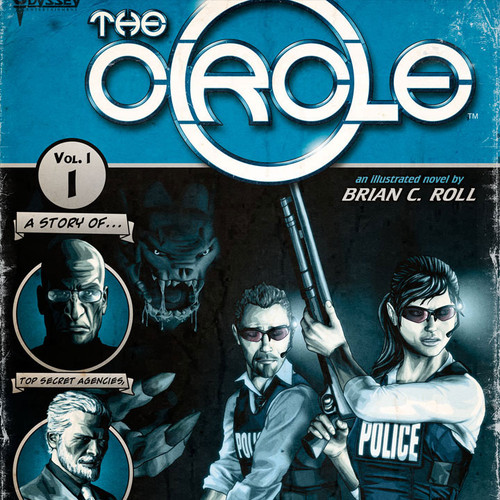 The Circle, Pulp, Brian C. Roll, Odyssey Art, thbnail