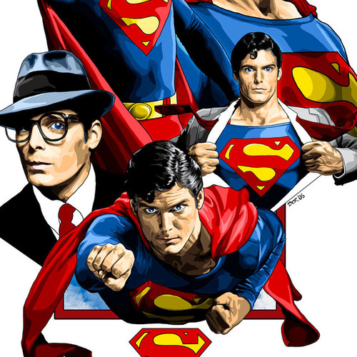 Superman, Christopher Reeve, Go Forward, Brian C. Roll, Odyssey Art, thbnail