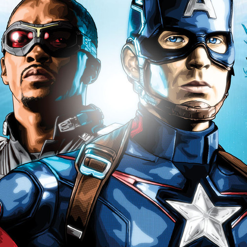 Captain America, Chris Evans, Civil War, Team Cap, Brian C. Roll, Odyssey Art, thbnail