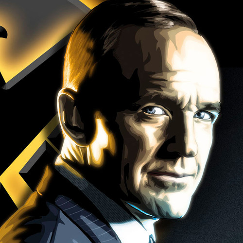 "Agents of S.H.I.E.L.D., 11""x17"" Phil Coulson art print, Brian C. Roll, Odyssey Art, thbnail"