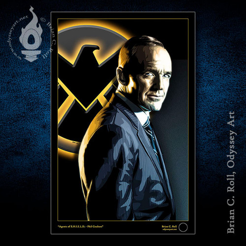Agents of S.H.I.E.L.D., Phil Coulson, Brian C. Roll, Odyssey Art