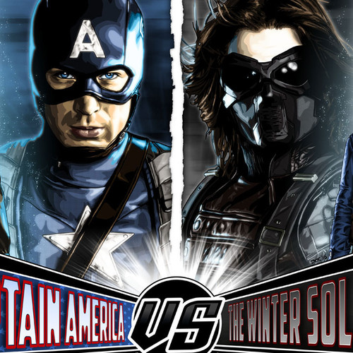 Captain America, Winter Soldier, Brian C. Roll, Odyssey Art, thbnail