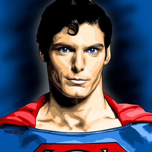 Superman, Christopher Reeve, Brian C. Roll, Odyssey Art, thbnail