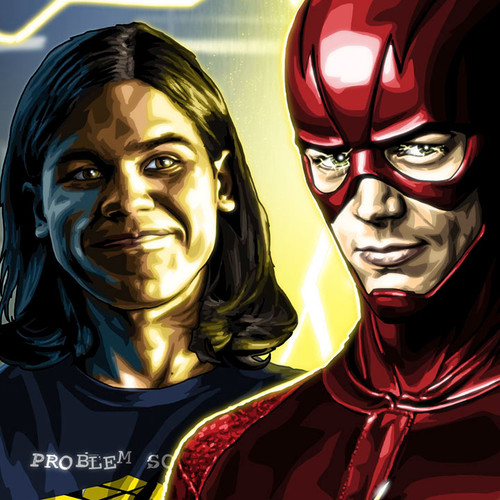 Flash, Team Flash, Grant Gustin, Brian C. Roll, Odyssey Art, thbnail