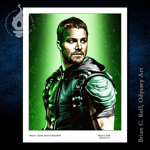 Arrow, Green Arrow -Unmasked, Stephen Amell, Brian C. Roll, Odyssey Art