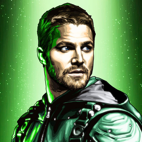 Green Arrow Art, Stephen Amell, Brian C. Roll, Odyssey Art, thbnail